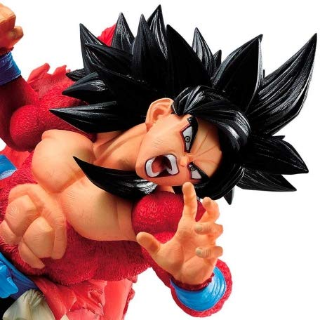 Super Dragon Ball Heroes Figure Son Goku Xeno SSJ4 9th Anniversary Figure