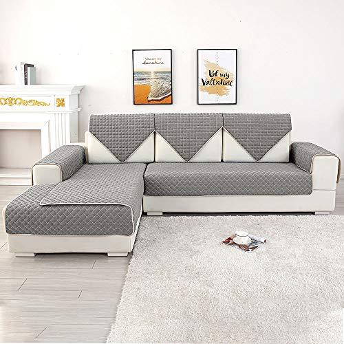 Relax love Sofabezug Sofaüberwürfe Polyester in kleinen Stücken, Zusammensetzbar für die unterschiedliche Sofas(L&U-Form oder Modulsofa)