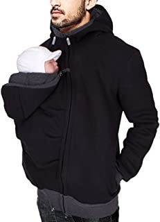 baby carrying jacket for men