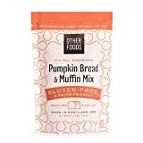 Other Foods Gluten Free Pumpkin Bread and Muffin Baking Mix Paleo Friendly - Easy to Bake, 100% Grain Free, Dairy Free, Corn Free, No Refined Sugar or Soy (Pumpkin, Single bag)