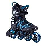 K2 Skates Herren F.I.T. 90 BOA Inline Skates, Black-Blue, 36.5 EU...