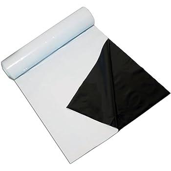 TEXALAN 6 Mil Mylar Film Roll 4 FT X 25 FT Diamond Film Foil Roll Highly Reflective Grow Room