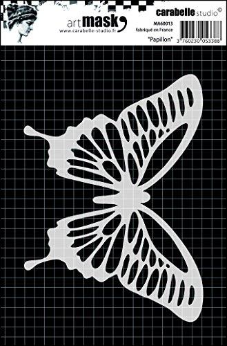 Carabelle Studio Butterfly Mask Plantilla, Plastico, 10.0x14.0x0.5 cm