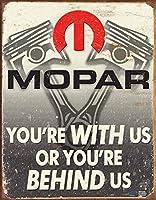 モパー-私たちの後ろティンサイン