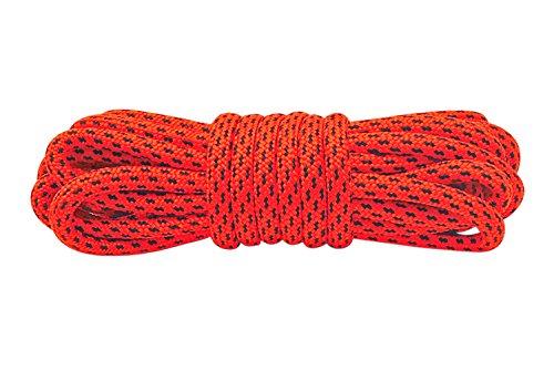 Lakeland Active Grasmoor Runde Schnürsenkel für Wanderschuhe und Stiefel - ø 4.5 mms - Neon Orange - 160 cm (1 Paar)
