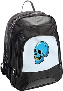 شنطة ظهر،   بتصميم جمجمة زرقاء