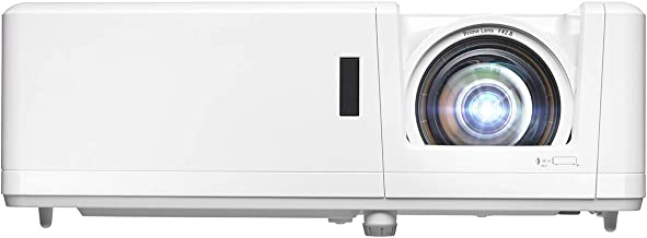 Optoma GT1090HDR Short Throw Laser Home Theater Projector | 4K HDR Input | Lamp-Free Reliable Operation 30,000 Hours | Bri...