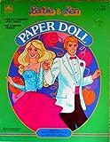 Barbie & Ken Paper Doll, Pre-Cut Fashions and 2 Dolls