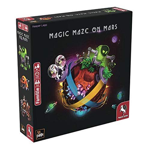 Pegasus Spiele 57204G Magic Maze on Mars