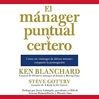 El mánager puntual y certero [The On-Time, On-Target Manager] audiobook cover art