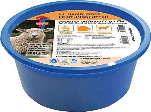 Panto Leckschale L92 für Schafe ohne Kupfer, Vorratspack 4er Pack (4 x 10 kg) Sparpack