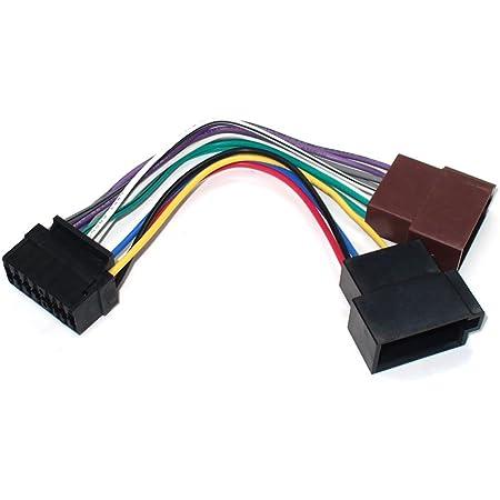 Maxxcount Autoradio Kabel Radio Adapter Stecker Din Iso Elektronik
