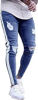Mens Jeans, Sales! Mens Stretch Denim Pants, Boy Slim Fit Zipper Jeans Trousers Cool Jeans Unisex Pants