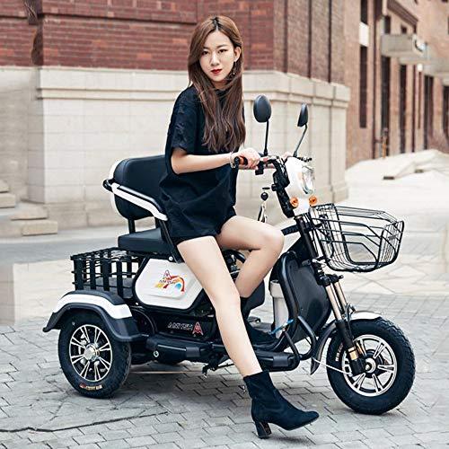 Viejo scooter de tres ruedas / adulto discapacitado casual motocicleta eléctrica de...