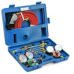 Stark Professional Gas Welding Cutting Torch Kit