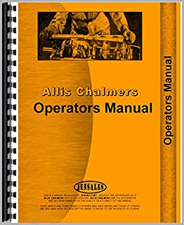 New Operators Manual For Allis Chalmers 170 Tractor