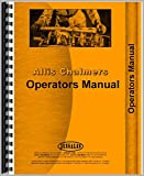 One New Operators Manual Made to Fit Allis Chalmers 5020 Plow Models Interchangeable with RAP65388