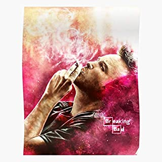 Fanart Art Portrait Breaking Pinkman Jesse Fan Tvshow Bad - Gift for Home Decor Wall Art Print Poster