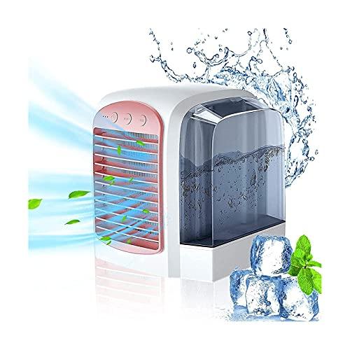 Enfriador de aire USB Breeze Maxx, aire acondicionado portátil refrigerado por agua con modo de 3 velocidades, humidificador de purificación de aire personal para sala de oficina, mesa al aire libre c
