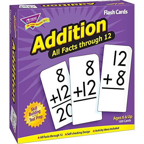 Trend Addition All Facts Lot de 169 Cartes Flash