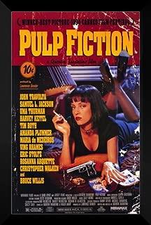 ArtDirect Pulp Fiction FRAMED 27x40 Movie Poster: John Travolta