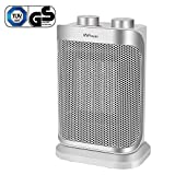 MVPower 1500W Radiateur Soufflant Céramique,2 Niveaux de Puissance Thermostat, Fonction de...