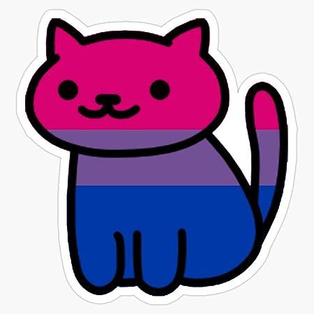 Rainbow Pride Cat Gay Sticker Bi Pride Sticker Trans Pride Lgbt Cat Sticker Lesbian Sticker Single Lgbt Stickers Gay Pride Sticker