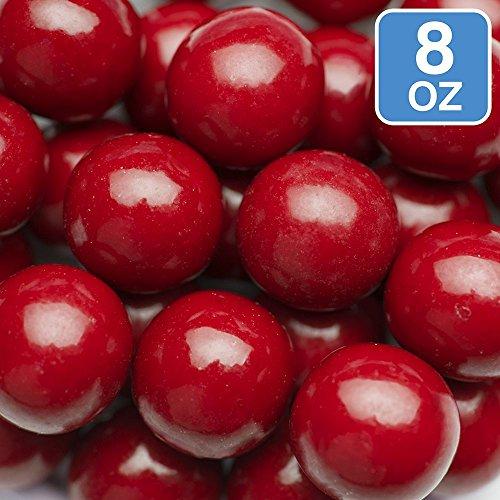 Sweetworks Celebration Candy Gumballs Bag, 8 oz, Red