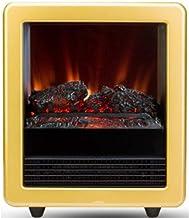 YLJYJ Chimenea Independiente Estufa eléctrica portátil calefacción Chimenea Zona de Ocio de Fuego Portátil Moderno con termostato Ajustable