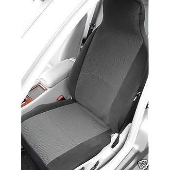Car seat covers fit Vauxhall Mokka full set black//silver