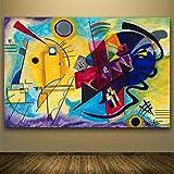 ganlanshu Pintura sin Marco Pintura al óleo Arte clásico póster de Pared y Pegatina Pintura Impermeable Lienzo Arte decoración de la paredCGQ7611 40X64cm