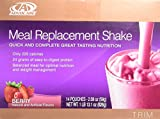 Advocare Meal Replacement Shake, Berry, Box of 14 Single Serve Pouches- (2.08 oz-Each)