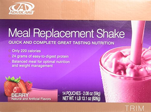 cheap Advocare Meal Replacement Shake, Berry, 14 bags per serving (2.08 oz each)