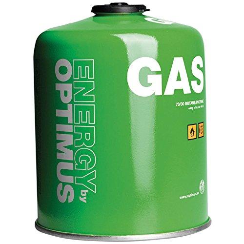 Optimus self-sealing gas cartridge