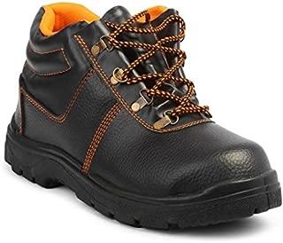Neosafe Spark A5005 Labour Safety Shoes, Black, Size 8