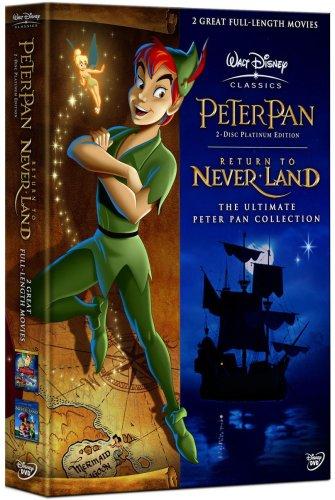 Peter Pan / Peter Pan 2 - Neue Abenteuer in Nimmerland [3 DVDs]