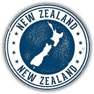 KW Vinyl Magnet New Zealand Grunge Map Stamp Truck Car Magnet Bumper Sticker Magnetic 5
