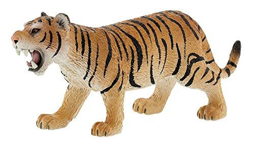 Bullyland 63683 - Spielfigur, Tiger braun, ca. 15 cm groß, liebevoll handbemalte Figur, PVC-frei, tolles Geschenk für Jungen und Mädchen zum fantasievollen Spielen