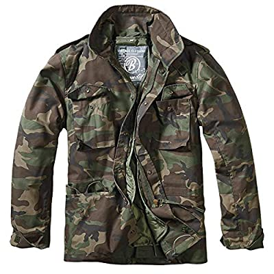 Brandit Men's M-65 Classic Jacket Woodland Size 4XL