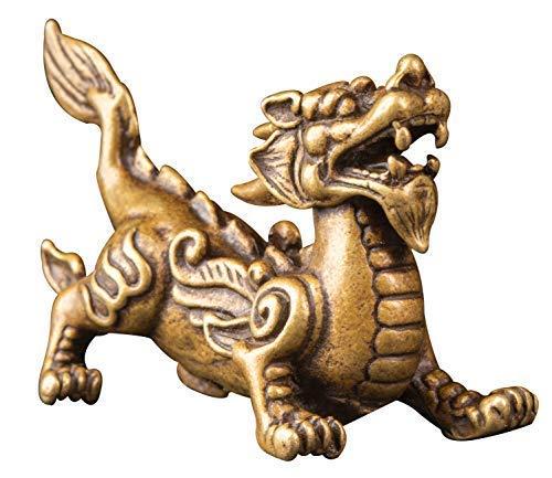 Kwok Mini Brass Fly Dragon Doll Home Decor Gift...