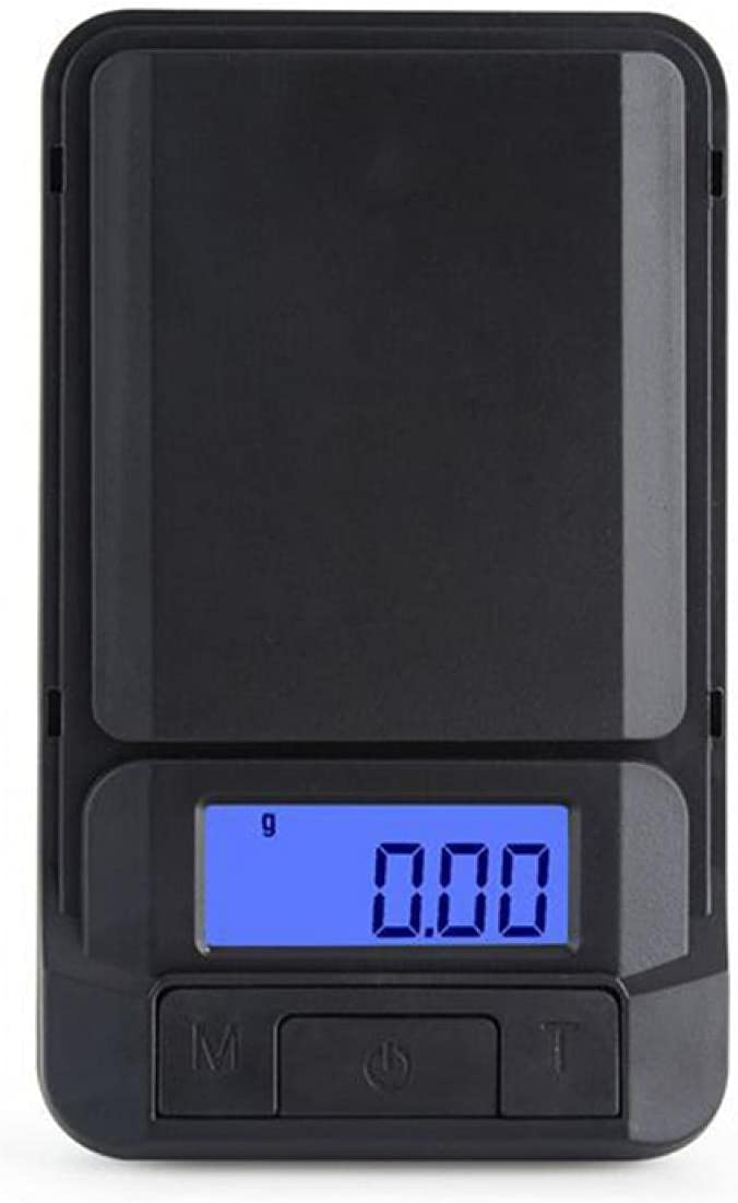 0.01g portátil digital balanza de peso precisa mini escala de bolsillo para joyas de oro coleccionables alimentos hierbas y café con pantalla LCD