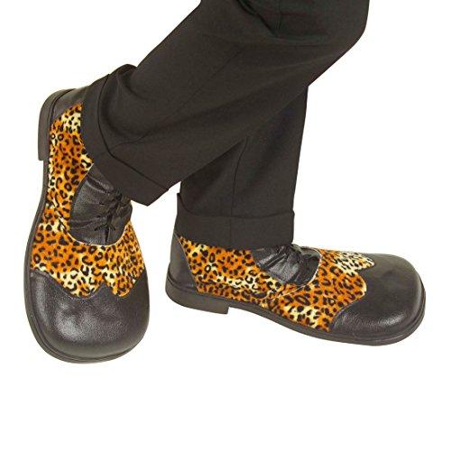 NET TOYS Zapatos Payaso | Zapatos Estampado Leo |