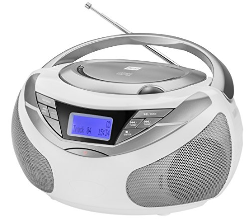 Dual Dab de p 150 Boom Box con Radio Digital (Reproductor de CD (MP3), Dab +/Radio FM, AUX-in, Sonido estéreo)
