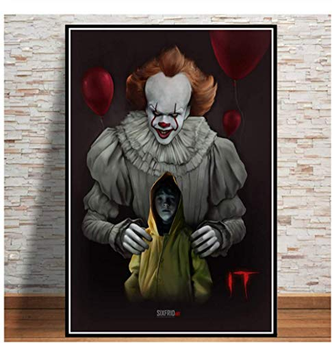 H/A Stephen King Penives Thriller, Digital Painting, Simple And Stylish Diy Canvas Poster, Home/Kids Room/Bar Decoration Art 40X60Cm Y7173