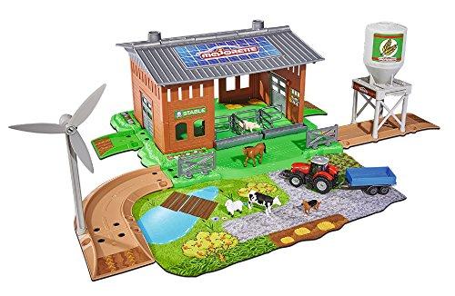 Majorette 212050007 - Creatix Farm Stable Playset,...