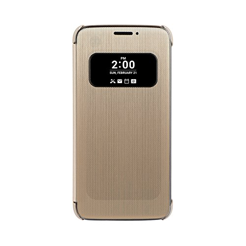 LG Mesh Folio Cover Handyschutzhülle G5 Gold