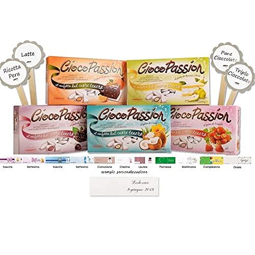 Crispo - Kit Confettata Ciocopassion + Etichette + Bigliettini Personalizzabili (5 KG)