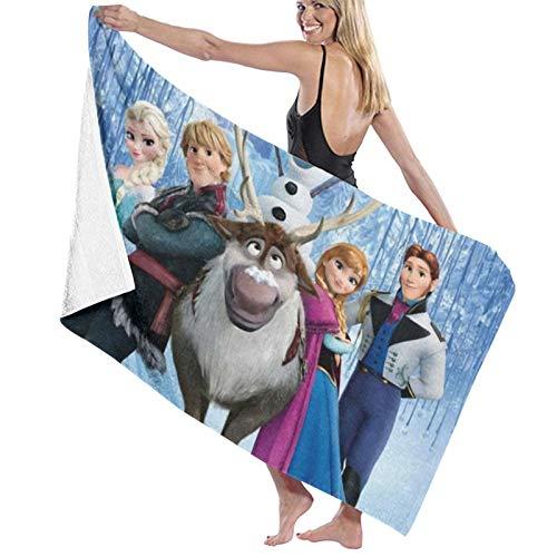 Custom made Toalla de baño de Frozen para cocina, toalla de viaje de microfibra suave para piscina, baño, spa, fitness, natación, mascotas, camping, decoración del hogar al aire libre
