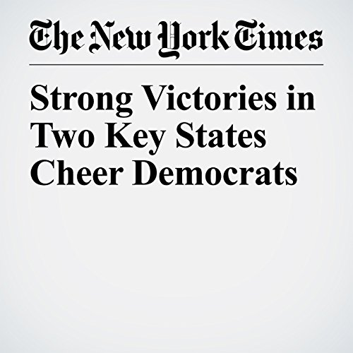 『Strong Victories in Two Key States Cheer Democrats』のカバーアート