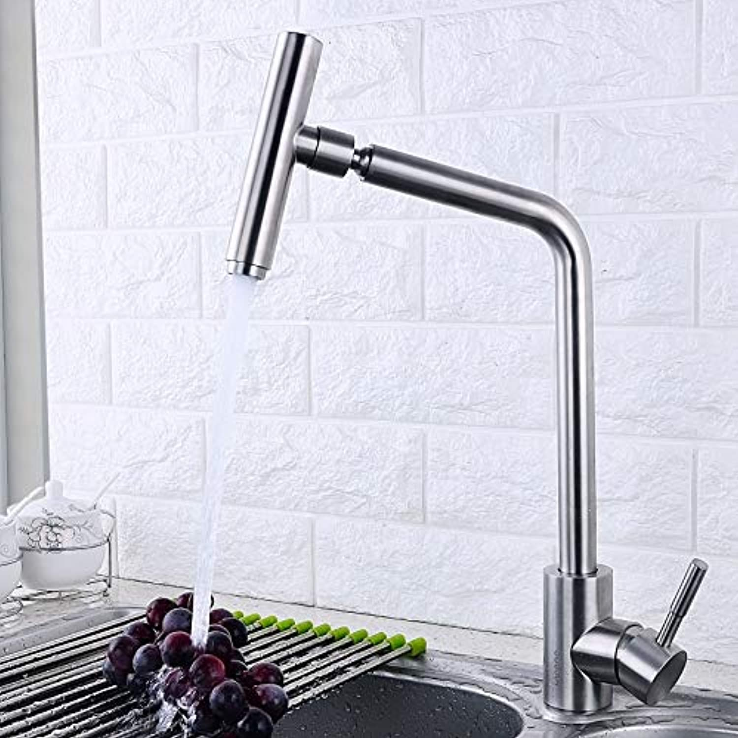 Decorry Stainless Steel Dishes Hot and Cold Taps 304 Mixer redating Tank